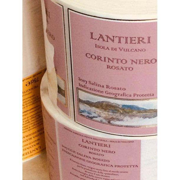 2018 Corinto Nero Rosato, Salina IgP, Paola Lantieri UUUU