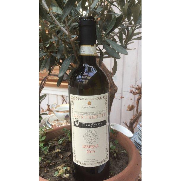 """2015 """"Montebetti"""" RISERVA økologisk Chianti Colli Fiorentini DOCG, Gualandi GUNOV"""