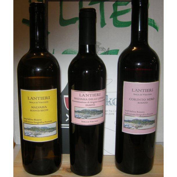 De sjældne vine fra Paola Lantieri, Punta dell'Ufala, øen Vulcano