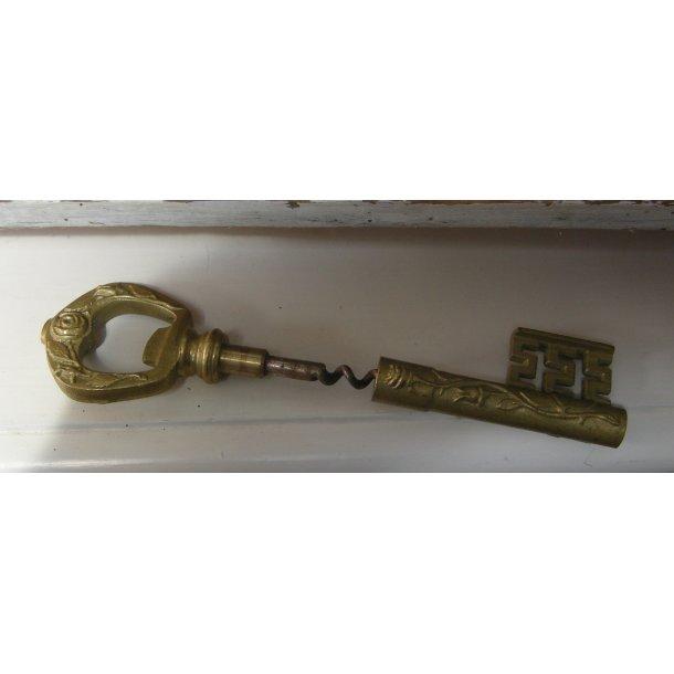 Proptrækker skjult i en nøgle