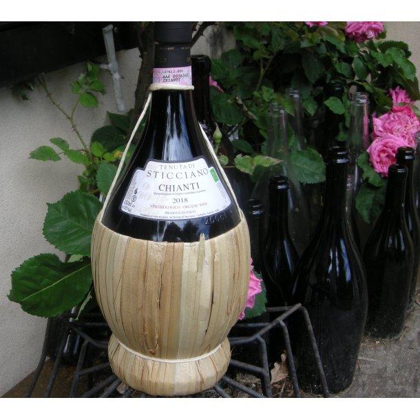 2018 Chianti DOCG 2 liters bast, økologisk, Tenuta di Sticciano Vort S.HANS